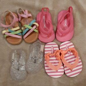 Infant Sandals shoes (5 pair)